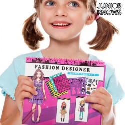 Fashion Notebook for Children Hair Stylist