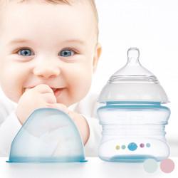 Babyflasche mit Langsamem Fluss 150 ml Blau