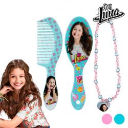 "Soy Luna Beauty Set for Girls ""Brush+Comb Pink"""