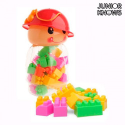 Juego de Bloques de Construcción Missy Junior Knows (28 piezas)