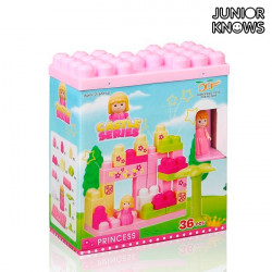 Jogo de Blocos de Construção Castle (36 peças)