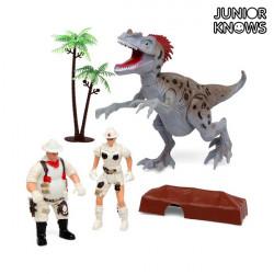 Jogo de Expedição com Dinossauro