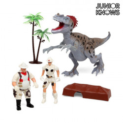 Juego de Expedición con Dinosaurio Junior Knows