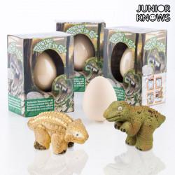 Junior Knows Ei mit kleinem Dinosaurier
