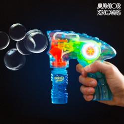 Junior Knows Seifenblasen Pistole mit Licht