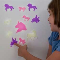 Junior Knows Fluorescent Unicorns (14 pieces)