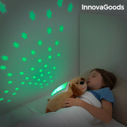 InnovaGoods Kuscheltier mit Projektor Pinguin
