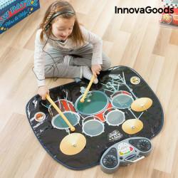 InnovaGoods Schlagzeug-Musikmatte