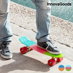 InnovaGoods Mini Cruiser Skateboard (4 Rollen) Zweifarbig