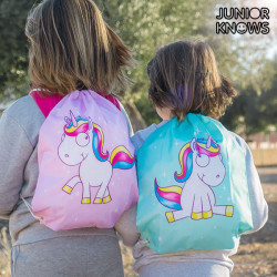Bolsa Mochila con Cuerdas Unicornio Junior Knows