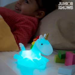 Veilleuse Licorne LED Multicolore Junior Knows