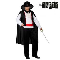 Disfraz para Adultos 1199 Hombre enmascarado (5 Pcs)