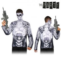 Adult T-shirt Th3 Party 6573 Robot