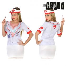 T-shirt pour adultes Th3 Party 6542 Infirmière sanglante
