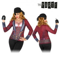 T-shirt pour adultes Th3 Party 6702 Femme pirate