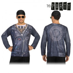 Adult T-shirt Th3 Party 6689 Biker