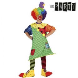 """Déguisement pour Enfants Th3 Party Femme clown """"5-6 Ans"""""""