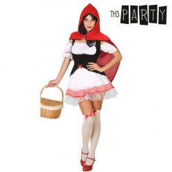 Costume for Adults Th3 Party Sexy little red riding hood XS/S