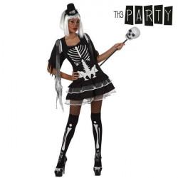 Verkleidung für Erwachsene Th3 Party Sexy skelett XS/S
