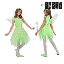 Costume per Bambini Th3 Party Fata 7-9 Anni