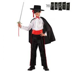 Déguisement pour Enfants Th3 Party Zorro 5-6 Ans