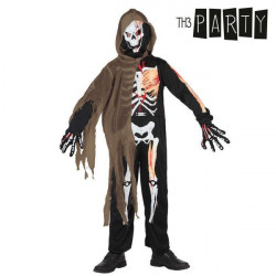 "Costume for Children Th3 Party Skeleton ""7-9 Years"""