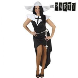 Verkleidung für Erwachsene Th3 Party Nonne XS/S