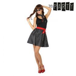 Costume per Adulti Th3 Party Anni 50 Nero M/L