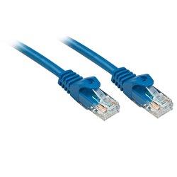 LINDY CAVO DI RETE CAT. 6U/UTP BASIC CONNETTORE RJ45 NON SCHERMATO GUAINA IN PVC 0.3 MT BLU 48170