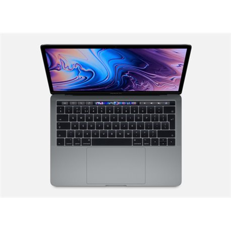 APPLE NB MACBOOK PRO WITH TOUCH BAR 13 1.4GHZ QUAD-CORE 8TH-GENERATION INTEL CORE I5 PROCESSOR, 256GB - SPACE GREY MUHP2T/A