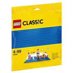 LEGO 10714 La plaque de base bleue