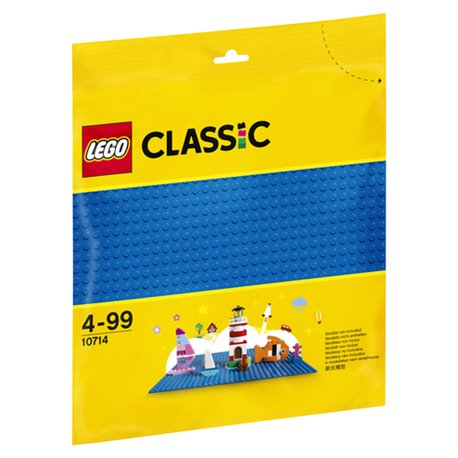 LEGO CLASSIC: BASE BLU 10714