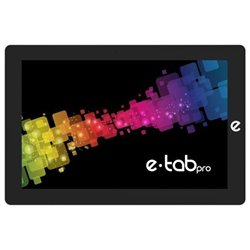 "Microtech e-tab Pro LTE 25,6 cm (10.1"") Intel® Celeron® 4 Go 64 Go Wi-Fi 5 (802.11ac) 4G Noir Windows 10 ETP101WL64/W3"