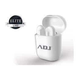 Adj Titanium Twins casque et micro Binaural écouteur Blanc 780-00030