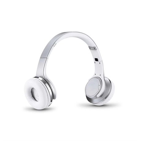 Adj 780-00032 auricular para telemóvel Binaural Fita de cabeça Prateado