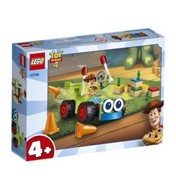 LEGO JUNIORS: TOY STORY 4 - WOODY E RC 10766