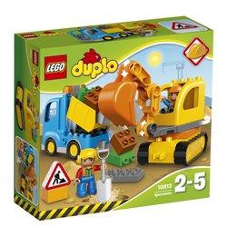 LEGO DUPLO: CAMION E SCAVATRICE CINGOLATA 10812