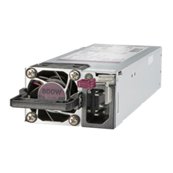 HPE Flex Slot Platinum Hot Plug Low Halogen fonte de alimentação 800 W Cinzento 865414-B21