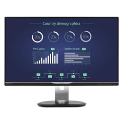 Philips B Line Monitor LCD con dock USB-C 258B6QUEB/00