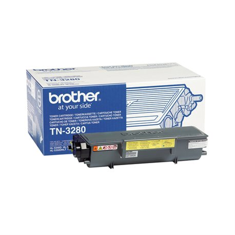BROTHER TONER TN3280 DA 8000 PAGINE