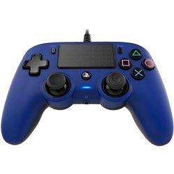 NACON COMPACT CONTROLLER CON CAVO PER PLAYSTATION 4 BLUE (PC COMPATIBILE)