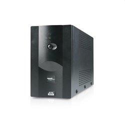 MACHPOWER UPS 1300VA/720WMETAL 2x12V/7Ah, 2xOUTPUT, 1xUSB, SOFTWARE UPS-LIT13M