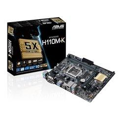 ASUS MB H110M-K LGA1151 2DDR4 GLAN VGA/DVI MATX