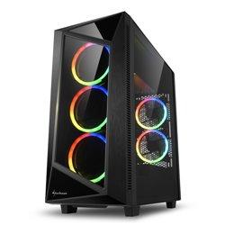 "SHARKOON CASE REV200 ATX 7 SLOTS EXPANSION 2 USB 3.0, 2 USB 2.0, DRIVE BAY DA 2,5""/3,5"""