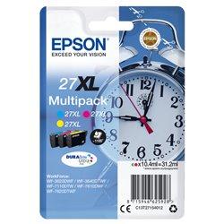 EPSON CART. INK MULTIPACK COLORE XL GIALLO + CIANO + MAGENTA PER WF-3620/3640/7110/7610/7620 SERIE SVEGLIA C13T27154012