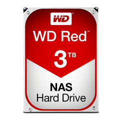 WESTERN DIGITAL HDD 3TB RED 3,5 SATAIII 6GB/S 64MB 5,4K