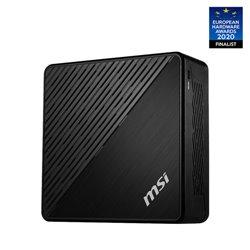 MSI Cubi 5 10M-032EU Intel® Core™ i7 di decima generazione i7-10510U 8 GB DDR4-SDRAM 256 GB SSD Mini PC Nero Windows 10 Pro