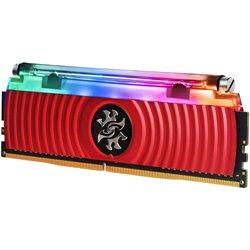 ADATA RAM GAMING XPG SPECTRIX D80 DDR4 3600MHZ CL17 8GB RGB LIQUID COOLED RED HEATSINK AX4U360038G17-SR80