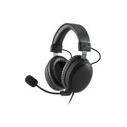 Sharkoon B1 conjunto de auscultadores e microfone Fita de cabeça Binaural Preto B1 HEADSET