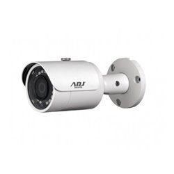 ADJ TELECAMERA D-100 BULLET BLACKLINE IP 4MP, 3.6MM, IR30M, IP67, 12V/POE